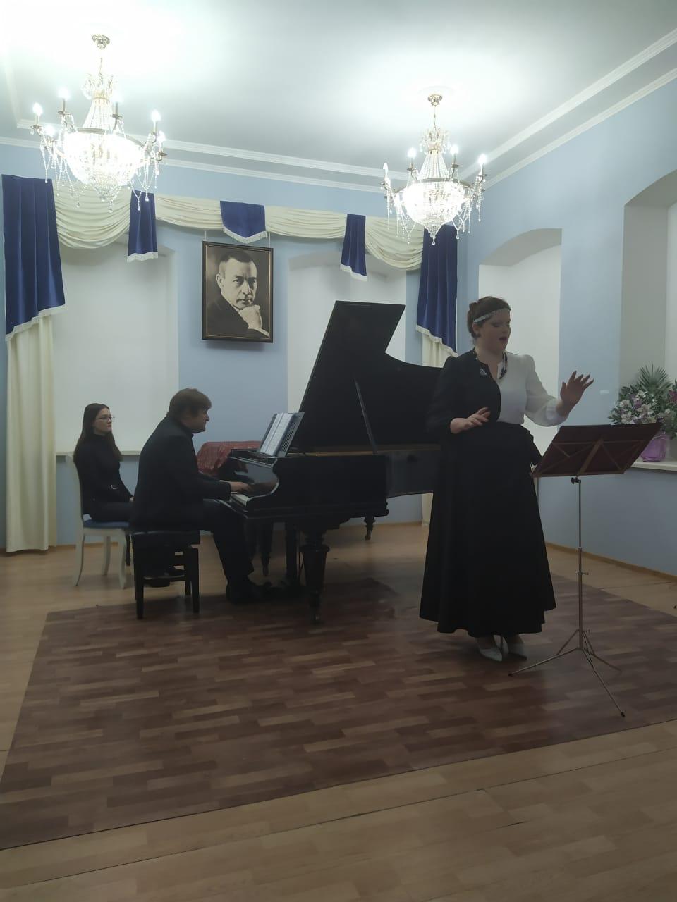 Петр Лаул и Мария Остроухова
