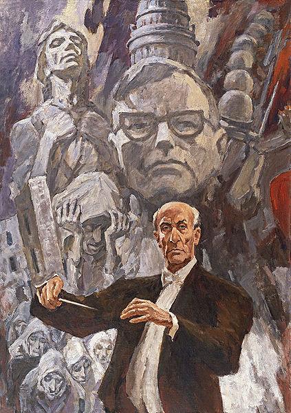Карл Элиасберг, дирижировавший исполнением 7-й симфонии Дмитрия Шостаковича 9 августа 1942 года в блокадном Ленинграде