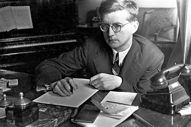 """""""Моим оружием была музыка"""" — композитор Дмитрий Шостакович. 1941 г."""