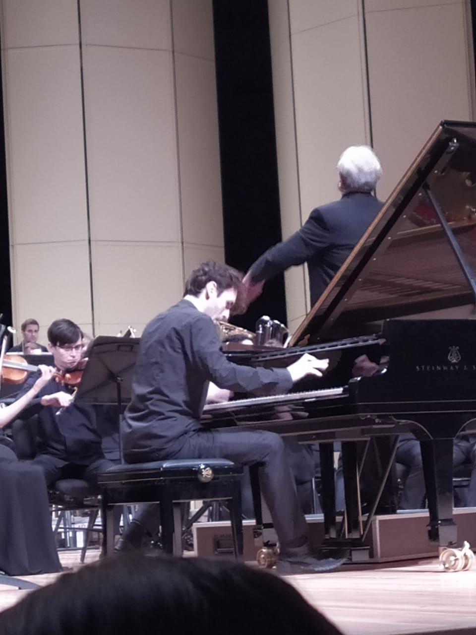 Александр Канторов исполняет 2-й концерт Сергея Прокофьева