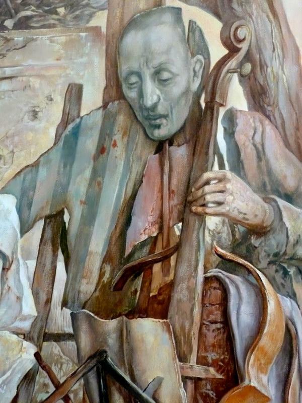 Самуил Бак, еврейский художник, переживший ребенком ужасы Холокоста