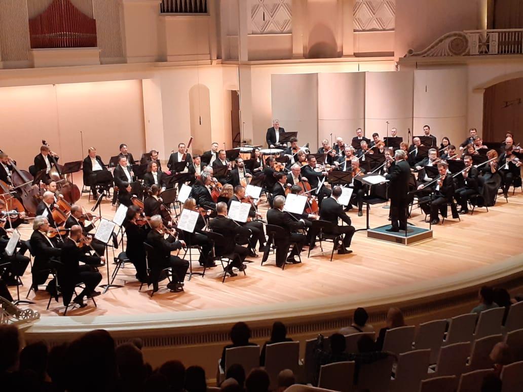 Владимир Федосеев дирижирует 3-й симфонией Бетховена