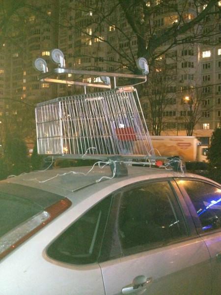 В Москве зима! А надо ли переобувать резину на тележке?