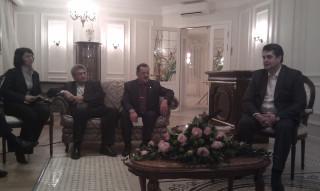 Встреча руководителей СМИ у Полпреда Винниченко 12.11.2010