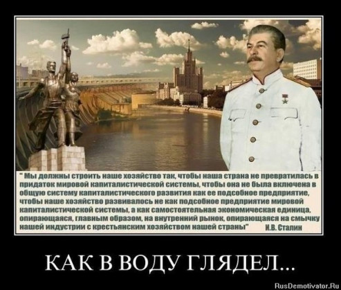 Циатта Сталина стала Демотиватором