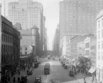 42-я улица в Нью-Йорке, 1925 год
