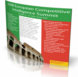 Конференция по конкурентной разведке SCIP Рим 2008
