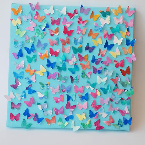 Поделки своими руками бабочка из ткани - Nastolnyje-nabory.ru