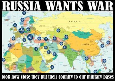 Эта агрессивная Россия уже задолбала миролюбивое НАТО!