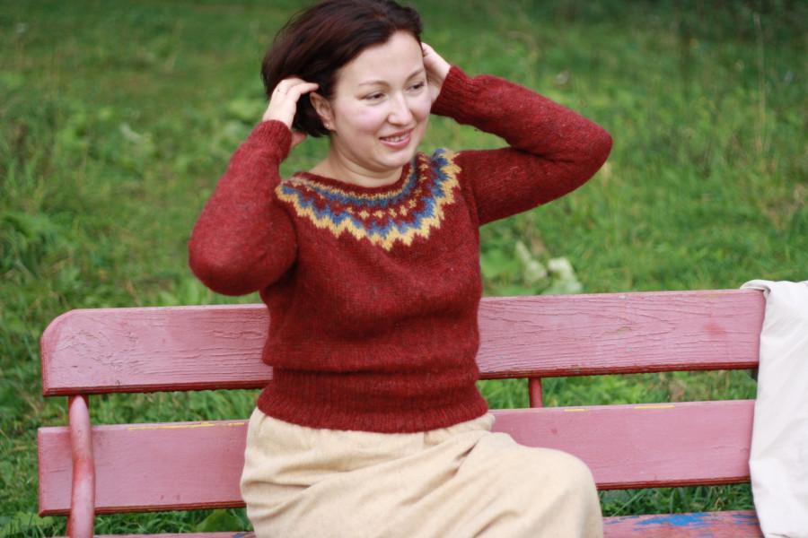 Связать детский свитер схема 947