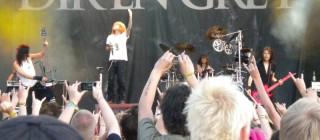 Dir en Grey on red stage, Metaltown 27/6 - 09