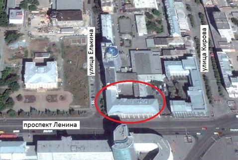Местонахождение: г. Челябинск, ул. Елькина, 47/ул. Ленина, 58