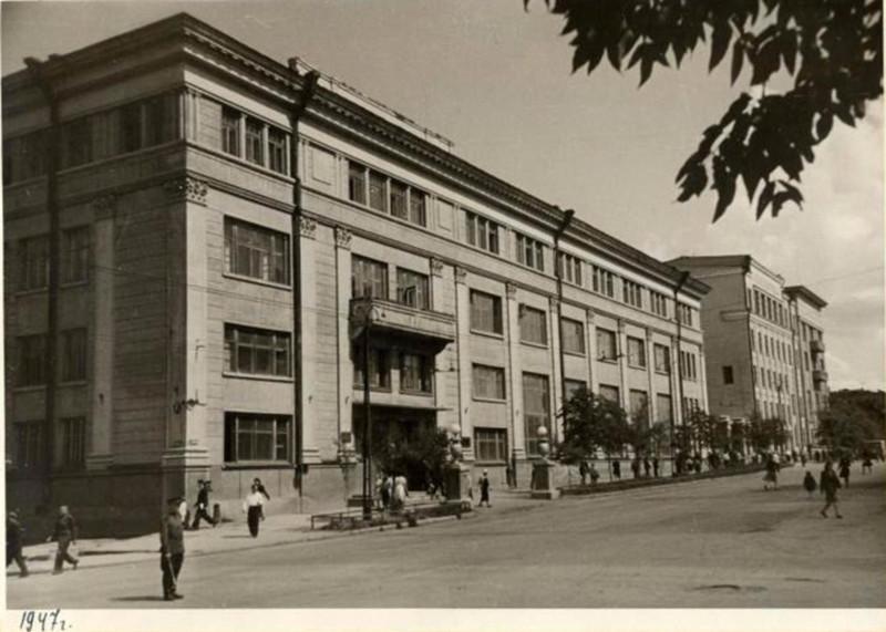 1947 год. Фотография из альбома группы «Челябинская старина» (социальная сеть «Одноклассники»)