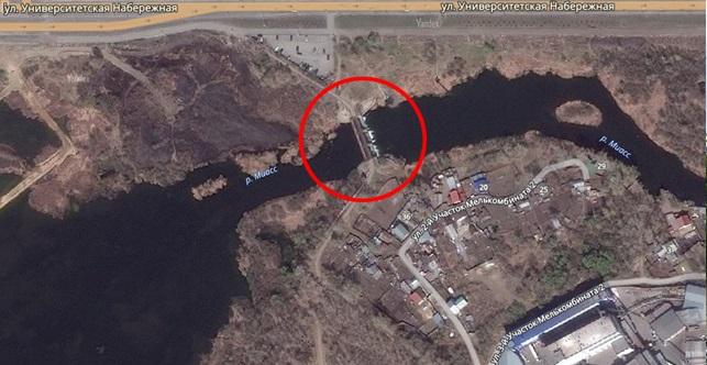 Местонахождение: г. Челябинск, между ул. Университетская набережная и 2-й Участок Мелькомбината 2