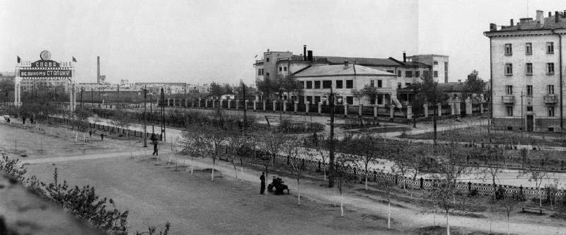 Конец 1940-х – начало 1950-х гг. Фотография из фонда музея ЧТЗ