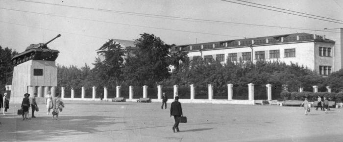 Конец 1960-х – начало 1970-х гг. Фотография из музея истории гимназии №48