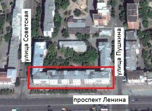 Местонахождение:  г. Челябинск, пр. Ленина, 50