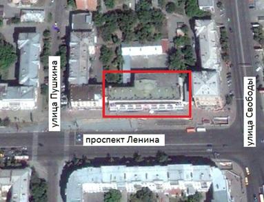 Местонахождение: пр. Ленина, 46, г. Челябинск