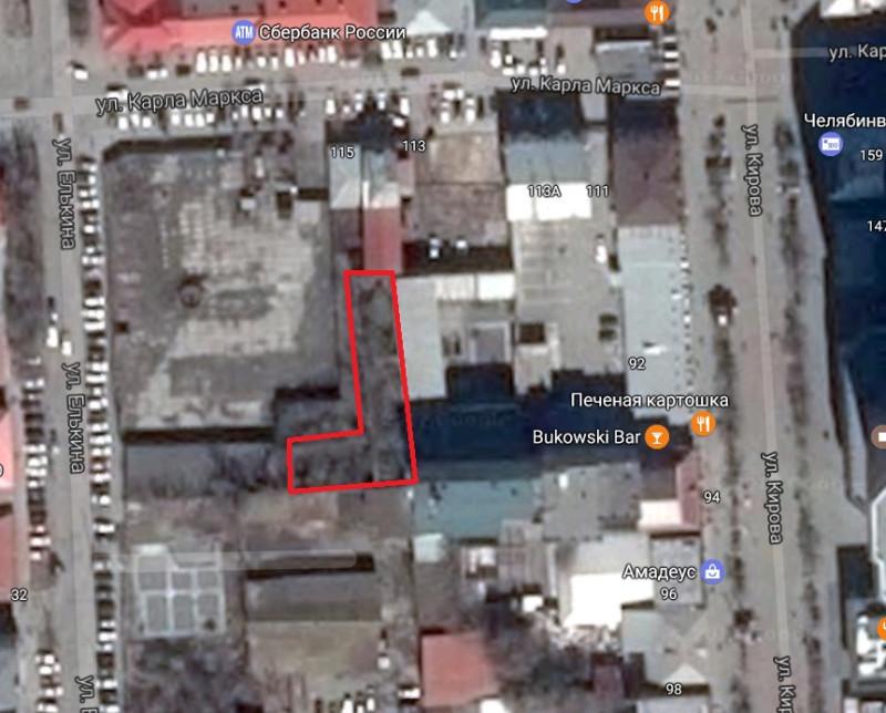 Местонахождение: г. Челябинск, В глубине квартала ближе к углу улиц Елькина и Карла Маркса