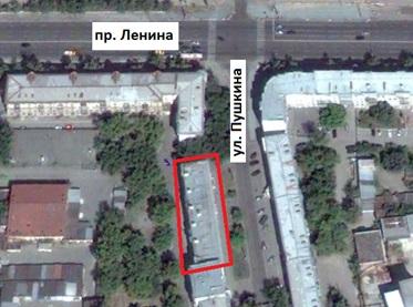 Местонахождение: г. Челябинск, ул. Пушкина, 60