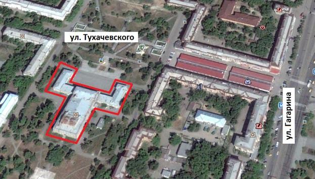 Местонахождение: г. Челябинск, ул. Тухачевского, 3