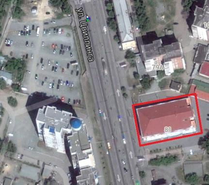 Местонахождение: г. Челябинск, ул. Цвиллинга, 81