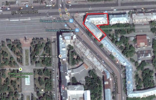 Местонахождение: г. Челябинск, ул. Цвиллинга, 33/пр. Ленина, 53