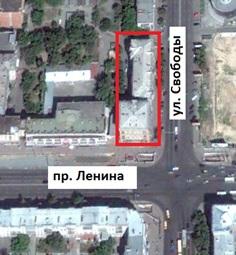 Местонахождение: г. Челябинск. Ул. Свободы, 66