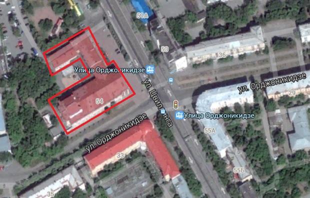 Местонахождение: г. Челябинск, ул. Цвиллинга, 54