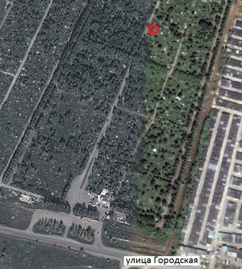 Местонахождение: Кладбище «Градское», северо-западный угол квартала № 8,   г. Челябинск