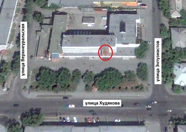 Местонахождение: г. Челябинск, ул. Худякова, 10