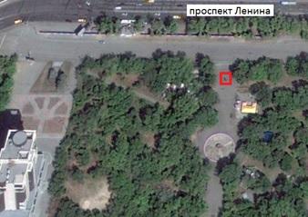 Местонахождение: пр. Ленина, детский парк Терешковой, г. Челябинск