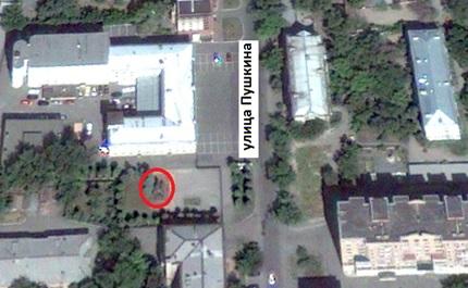 Местонахождение: г. Челябинск, у здания, расположенного по адресу: ул. Пушкина, 68