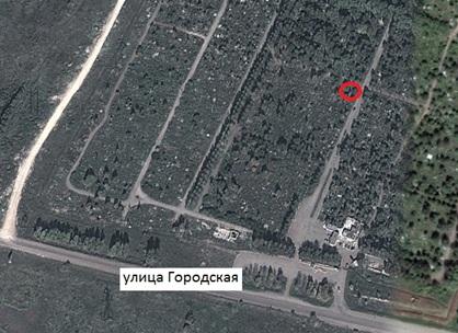 Местонахождение: Кладбище «Градское», северо-восточный угол квартала № 3, г. Челябинск