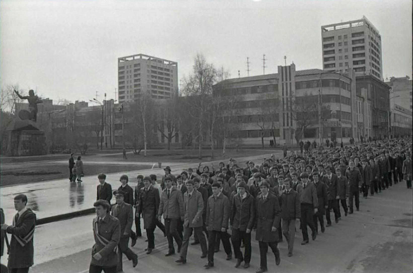 1983 год. Проводы призывников