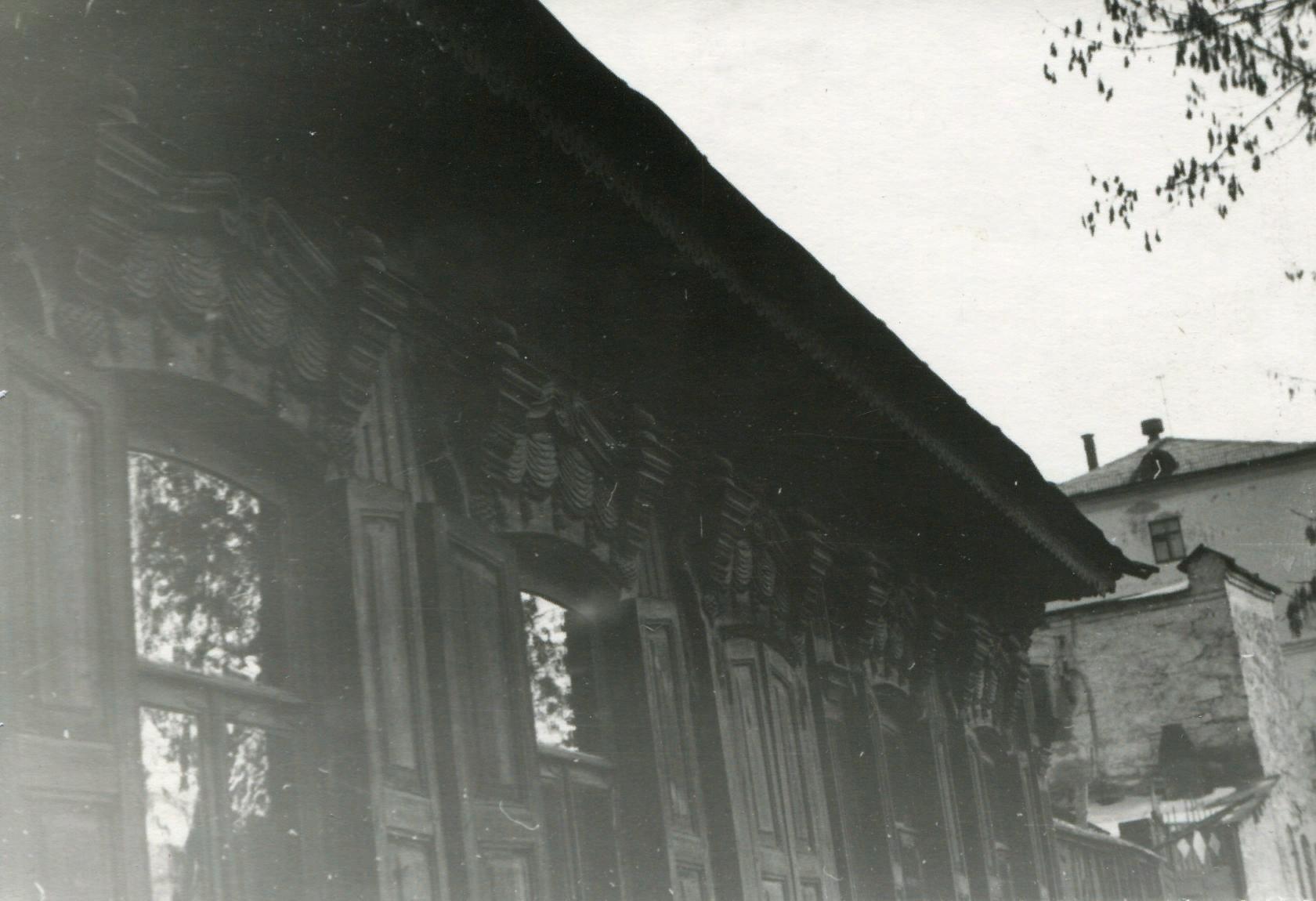 Западный фасад. ОГАЧО. Ф.Р-1845. Оп.2. Д.42.