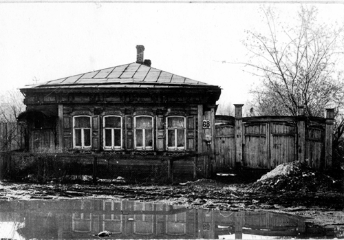 Фотография с учётной карточки Центра историко-культурного наследия г. Челябинска. Ориентировочно 1980-е годы