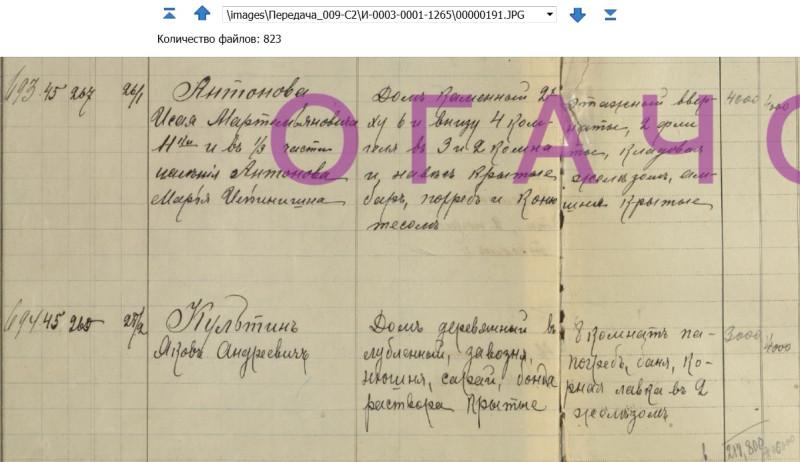 Источник: ф.И3 оп.1 д.1265 Раскладочная ведомость по налогу с недвижимого имущества г. Челябинска на 1916 г.