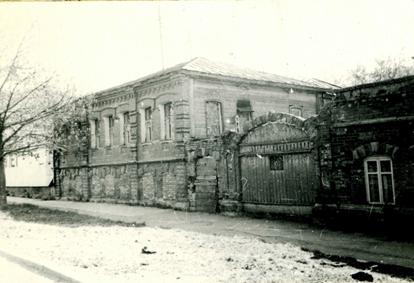 Фотография с учётной карточки Центра историко-культурного наследия г. Челябинска. Ориентировочно 1980-е годы.