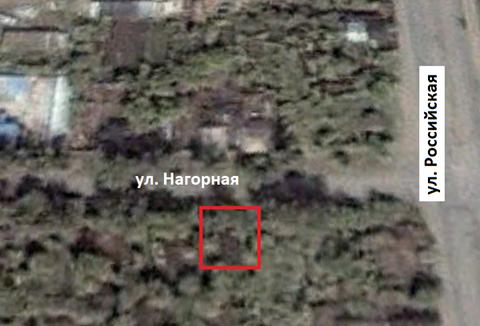 Дом находился по адресу: г. Челябинск,  ул. Нагорная, 35. Снимок со спутника 6 октября 2000 г.