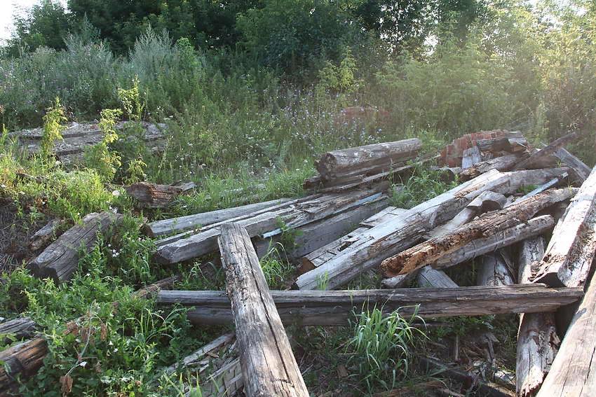 Останки разрушенного храма, в советское время - клуба и магазина Автор фотографии: Василий Артамонов     Снято: 6 августа 2016
