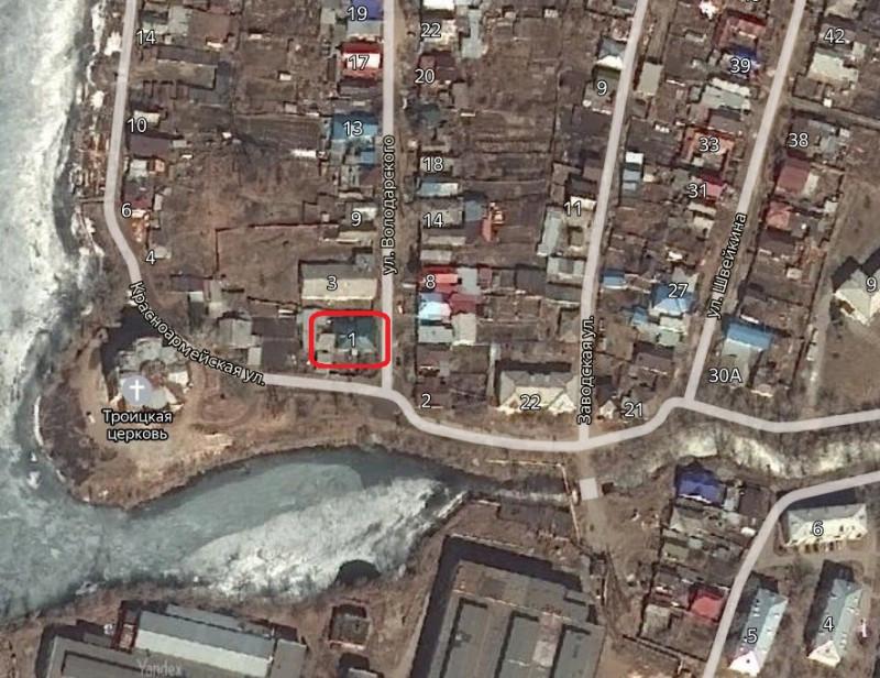 Местонахождение: Челябинская область, г. Кыштым, ул. Володарского, 1