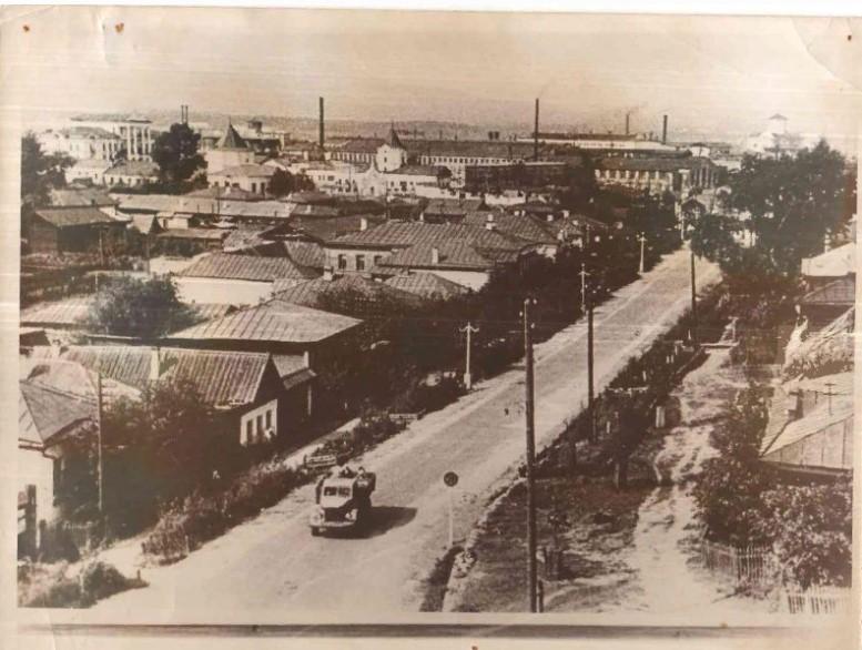 Улица Советская. 1960 год. Фотография из фонда Кыштымского историко-революционного музея