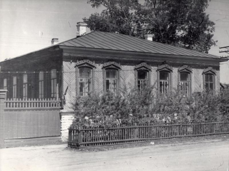 После 1960 года. Ленина, 33а. Фото предоставил В. Ашитков (г. Верхнеуральск).