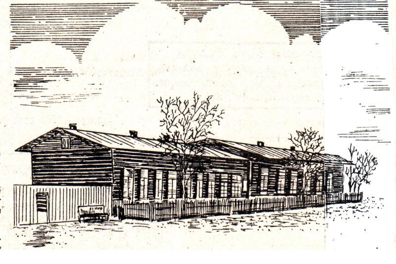 Здание  казармы для солдат. Реконструкция Р.А.Мухамедьянова