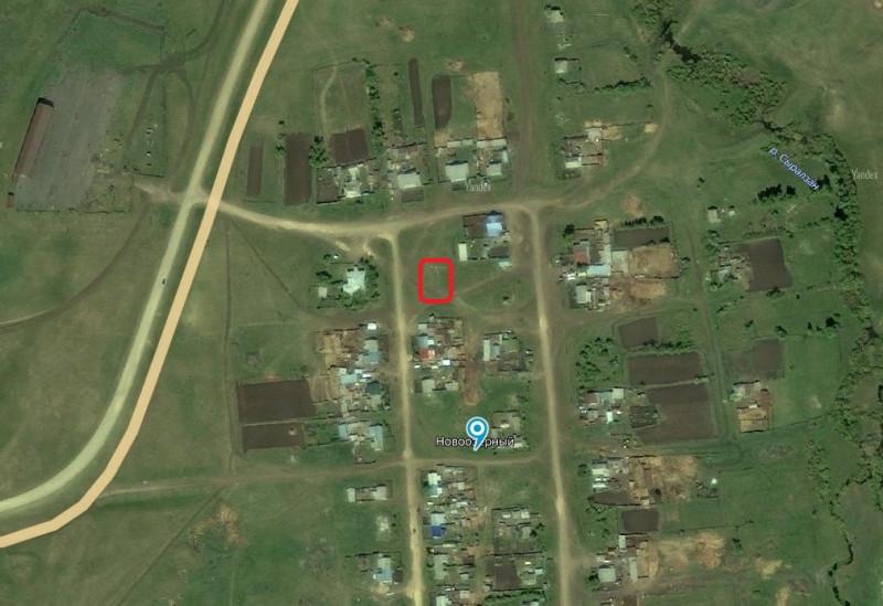 Местонахождение: Челябинская область, Верхнеуральский район, п. Новоозерный, место, где вероятно находилась церковь.