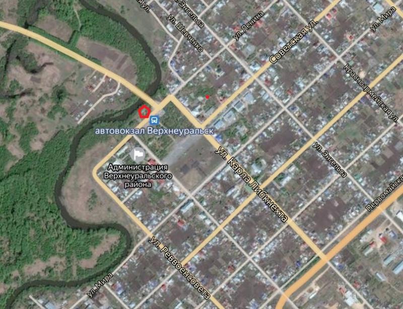 Местонахождение: Челябинская область, г. Верхнеуральск, ул. Ленина, напротив автовокзала