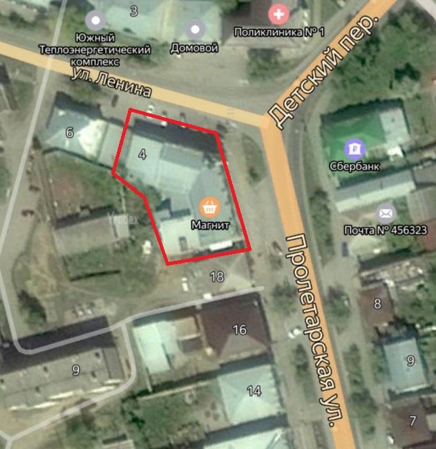 Местонахождение: Челябинская область, г. Миасс, ул. Ленина, 2