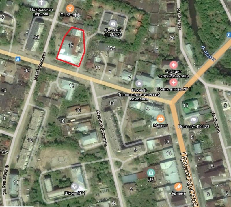 Местонахождение: Челябинская область, г. Миасс, ул. Ленина, 17