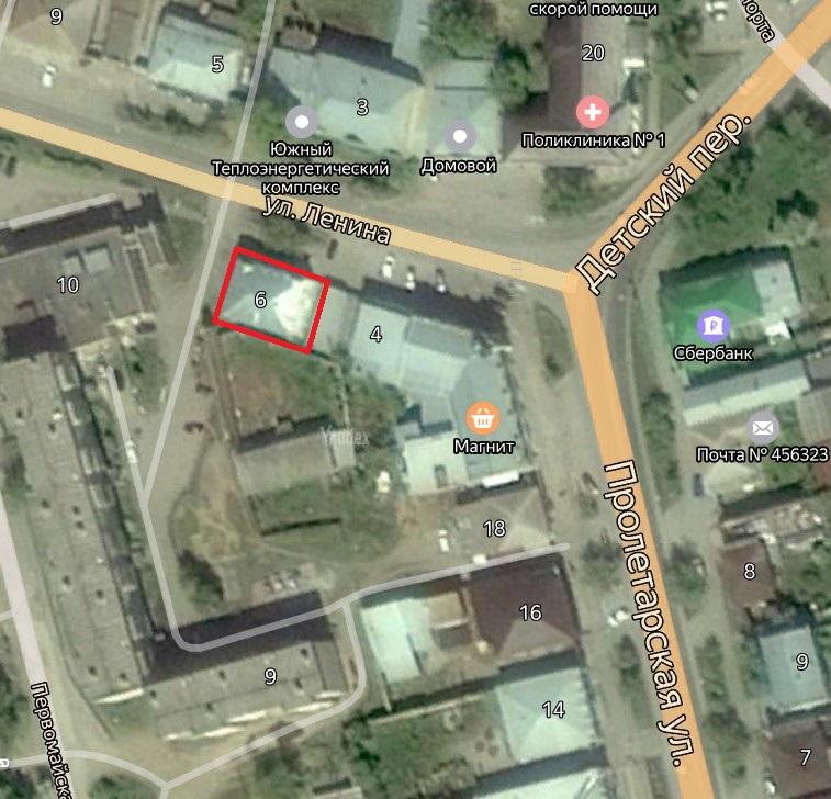 Местонахождение: Челябинская область, г. Миасс, ул. Ленина, 6